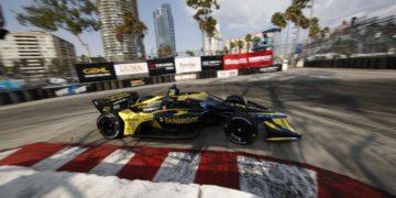 IndyCar – Tercer lugar de Palou en los primeros libres de Long Beach, liderados por Colton Herta