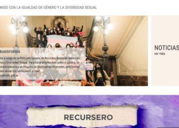 La Cámara de Diputados lanzó un portal con información legislativa sobre género– Titular