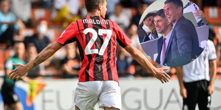 Debut goleador del nuevo Maldini /Titulares de Deportes
