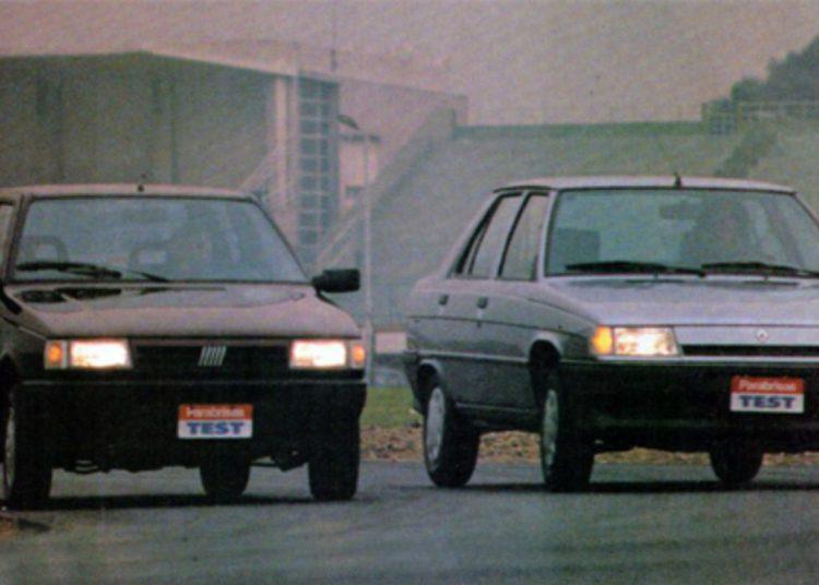 Por eso probamos el Fiat Duna SCL Vs.  renault 9 gtl/ Titulares de Autos