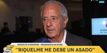 D'Onofrio reveló la apuesta que ganó contra Riquelme y lo elogió: «Debería haberse puesto la camiseta de River»/ Titulares de Deportes