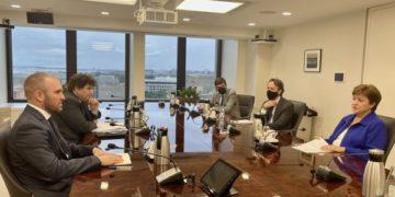 FMI: Guzmn vio a Lipton y Georgieva acelerar el acuerdo después de las elecciones