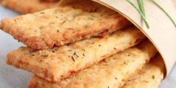 Galletas de queso y romero extra fáciles/ Titulares de Rio Negro