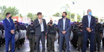 Kicillof anunció un nuevo aumento salarial para la Policía de la Provincia de Buenos Aires/ Titulares de La Matanza