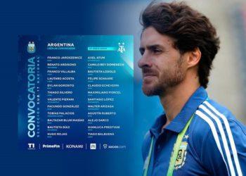 Pablo Aimar convocó a 24 juveniles /Titulares de Deportes