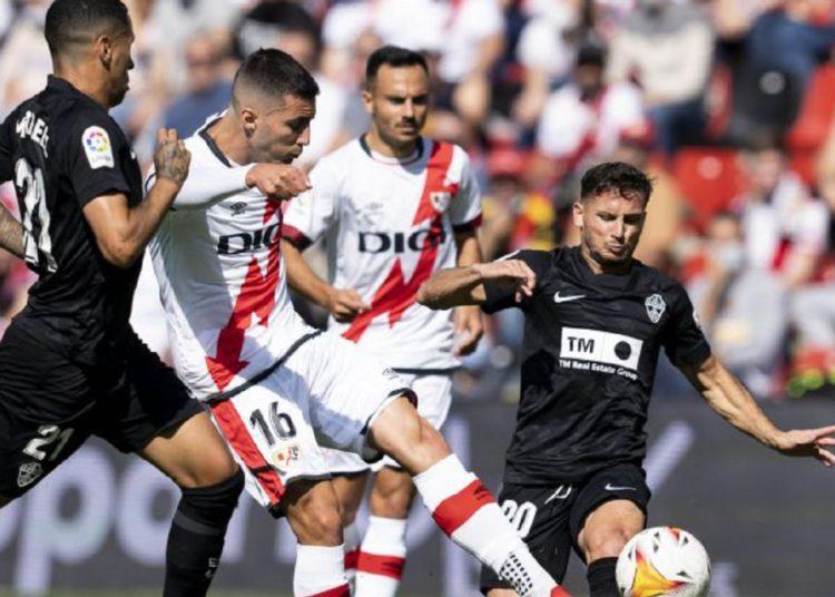 Rayo – Elche, en directo; LaLiga Santander hoy en vivo / Futbol de España