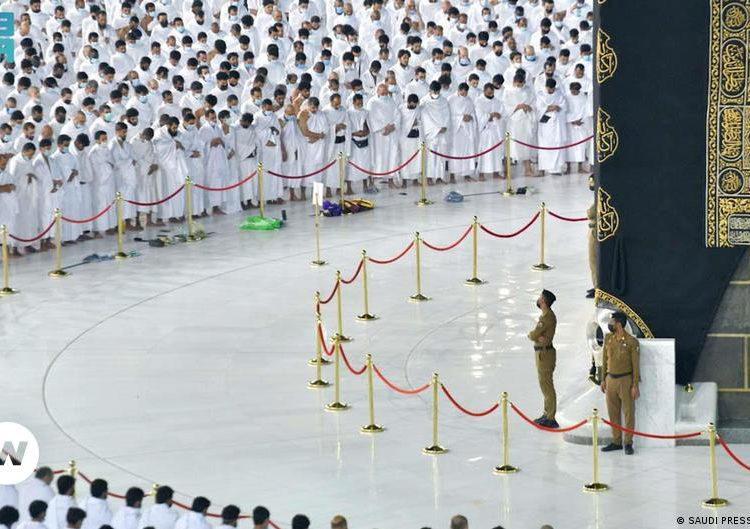 Los peregrinos de la Meca vuelven a rezar sin reglas de distancia    Actualmente Oriente Medio    Titulares