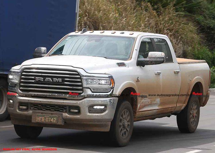 La RAM 3500 se venderá en Brasil con una sola rueda /Titulares de Noticias de Brasil