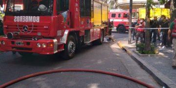 rescataron a dos mujeres, que sufrieron quemaduras /Titulares de Policiales