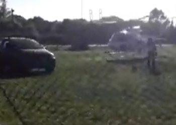 Denuncian una senadora, esposa de Berni, para bajar en helicóptero en una pista de Ensenada/ Titulares de Rio Negro