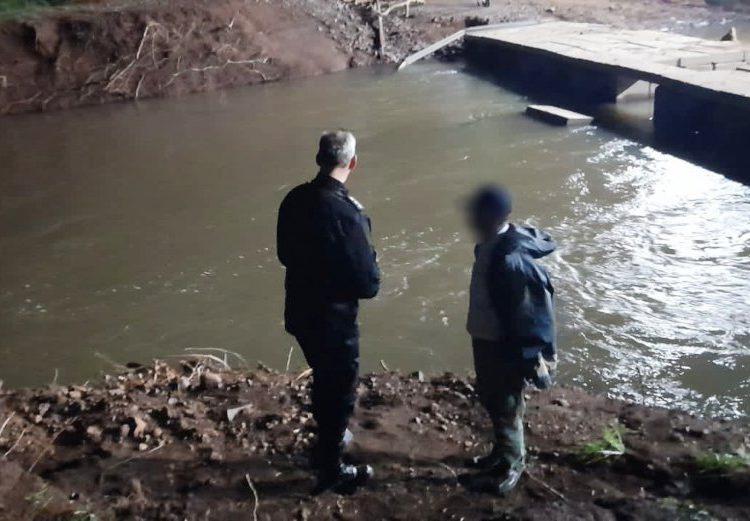 Buscan menor que habría desaparecido en el arroyo Pindaytí/ Titulares de Misiones