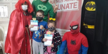Más de 100.000 niños ya han sido vacunados contra COVID-19/ Titulares de La Matanza