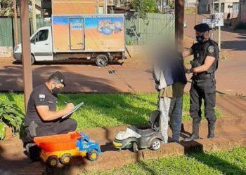 Insensible: robó y vendió juguetes para niños/ Titulares de Misiones