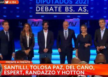 EN VIVO    Comenzó el debate entre los candidatos de la provincia de Buenos Aires: sigue el minuto a minuto