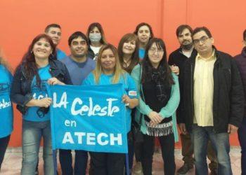La Celeste invita a votar en las elecciones de ATECH/ Titulares de La atagonia