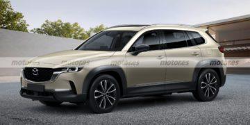 Fiel adelanto del nuevo Mazda CX-60 2022, un nuevo SUV japonés para Europa