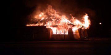 qué dicen los directivos del club incendiado por grupos mapuches / Sociedad