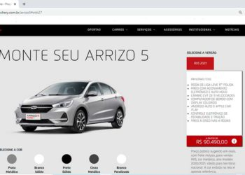 CAOA Chery Arrizo 5 ha terminado su producción en Brasil /Titulares de Noticias de Brasil