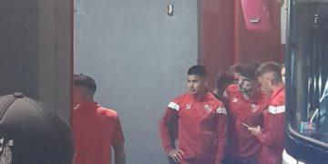 La barra entró al vestuario del Rojo /Titulares de Deportes