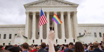 La igualdad en el matrimonio entre personas del mismo sexo tuvo una gran victoria en los EE. UU.