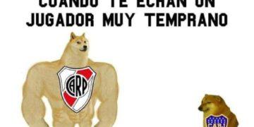 Los memes por el triunfo de River con 10 jugadores dedicados a Boca – Titulares
