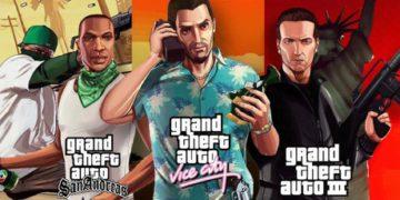 Rockstar lanza GTA 3, Vice City y San Andreas remasterizados