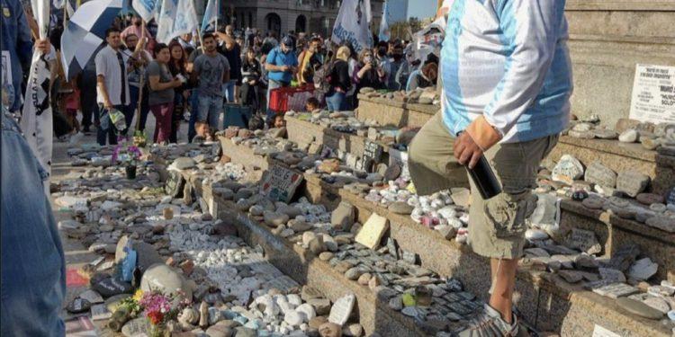 Tras el ataque en el acto del 17 de octubre, el Gobierno de la Ciudad protegerá el memorial de las víctimas del covid /Titulares de Política