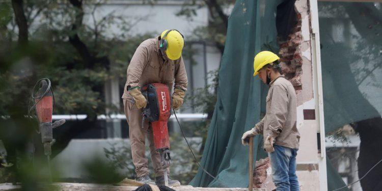 El empleo en la construcción estaba por encima de los niveles previos a la pandemia/ Titulares de Economía