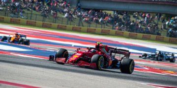 GP Estados Unidos – Sainz, sorprendido positivamente: «El ritmo del SF21 es prometedor»