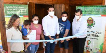 En Colonia Liebig, Valdés abre vivienda e infraestructura urbana – Corrientes Noticia/ Titulares de Corrientes
