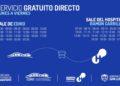 Habrá un servicio de bus gratuito desde EDIRO hasta el Hospital Central/ Titulares
