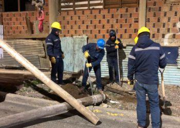 Tras el temporal quedan pendientes 615 reclamos por energía eléctrica/ Titulares de La atagonia