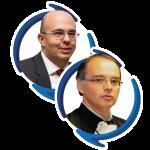 Alexander Benchimol e Raul Dias