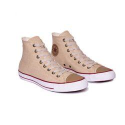 Zapatillas Chuck Taylor All Stra  Linen Hi  Converse