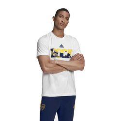 Remera Estampa Boca Juniors Street Adidas