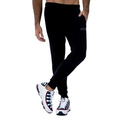 Pantalones Pantalón Con Puño Masc Fila